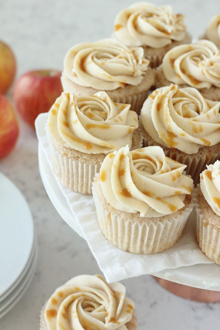 Soft, warm cinnamon cupcakes with a gorgeous spiced cider buttercream, topped off with salted caramel - the PERFECT way to enjoy your favorite cinnamon apple flavors this Fall season! Read More »
