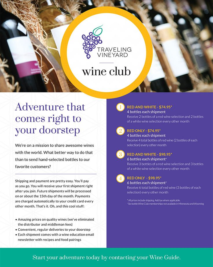 A New discovery in every box!  World class wines shipped to your door!