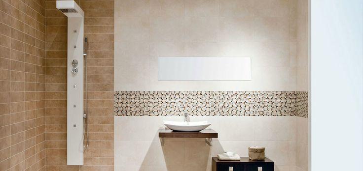 Para poder crear un ba o con muestro toque personal es muy - Combinacion de azulejos ...