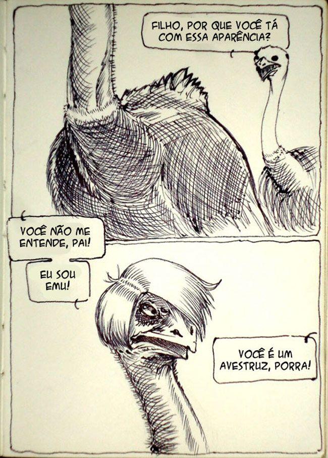 Satirinhas - Quadrinhos, tirinhas, curiosidades e muito mais! - Part 88