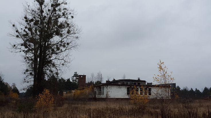 Opuszczona remiza Pyrzowice