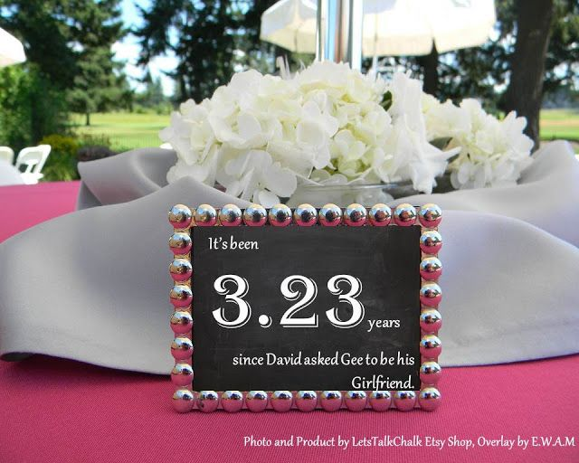 Unique Table Numbers To Tell Your Story DIY