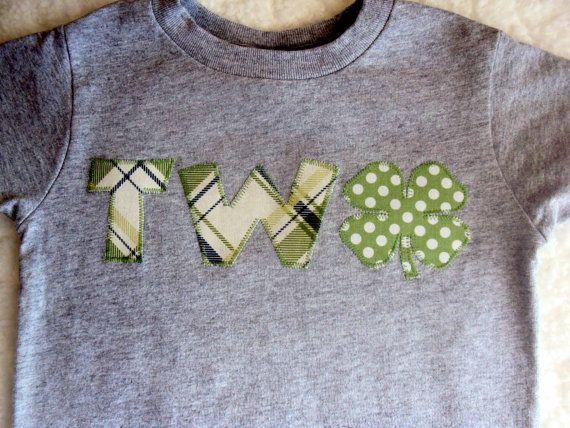 Boys St. Patricks Day Shirt- Boys St. Patrick's Day Birthday Shirt -Toddler St. Patrick Day Shirt- Plaid with Polka Dot Green Shamrock