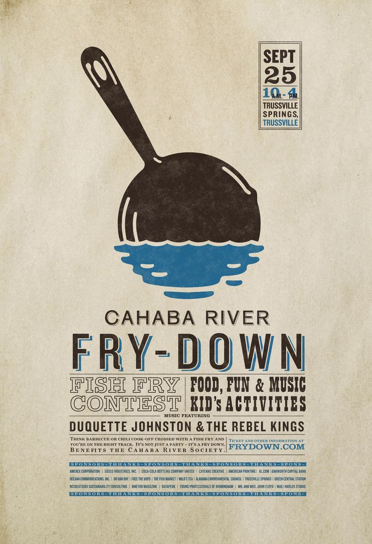 17 best ideas about event poster design event is the cahaba river fry down benefiting the how to make a resume online - Create Resume Online Free Pdf