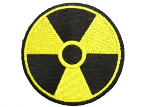 """BIOHAZARD Yellow Warning Sign Zombie Metal Iron On Embroidered Patch 3""""/7.7cm x 3""""/7.7cm BY SSLINK patch.ss http://www.amazon.co.uk/dp/B00JHZFG4Y/ref=cm_sw_r_pi_dp_Fp3Jtb1WVQC2J3DC"""