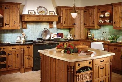 Kitchen design ideas popular floor plans diy remodeling tips and 3d software tools rustic Kitchen design diy software