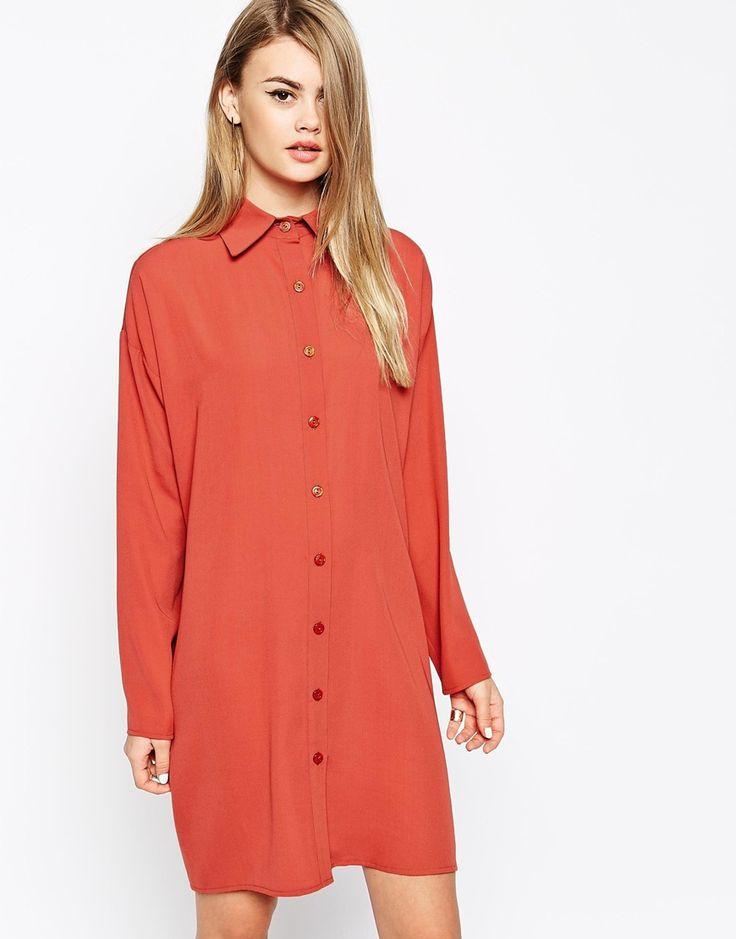 Image 1 ofThe Laden Showroom X Mirror Mirror Classic Shirt Dress