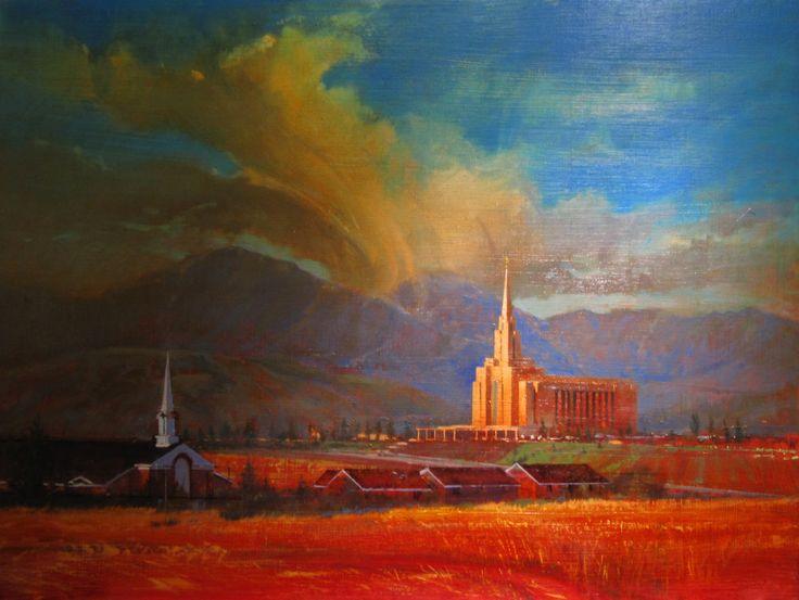 Rob Adamson Studio: Oquirrh Mt. Temple
