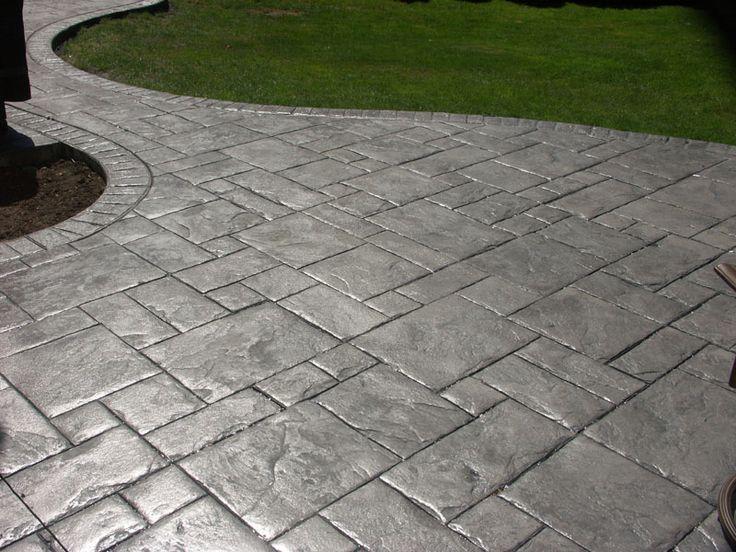 27 best Terrasse béton imprime images on Pinterest Decks, Pavement - terrasse beton imprime prix m
