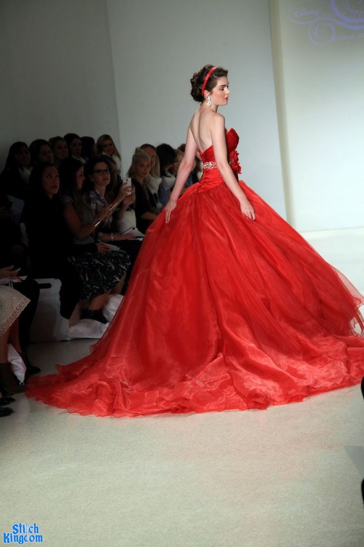 Red Disney Wedding Dress