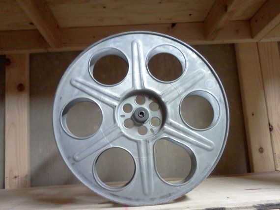 Hollywood 35mm Film Reel Movie Theater Prop By
