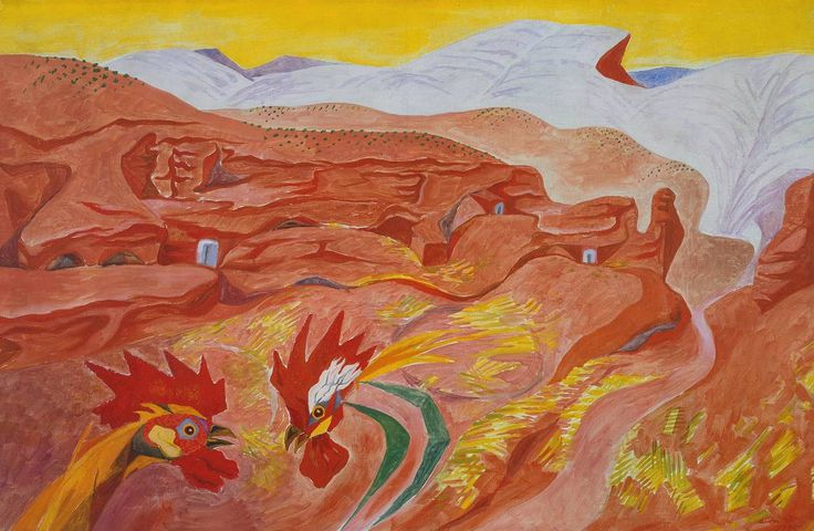 André Masson (1896‑1987), Ibdes in Aragon, 1935, Oil paint on canvas. Surrealism and Beyond room at Tate Modern. » http://www.tate.org.uk/art/artists/andre-masson-1590