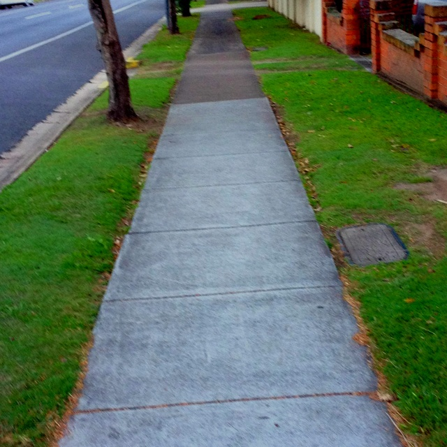 The walk to work