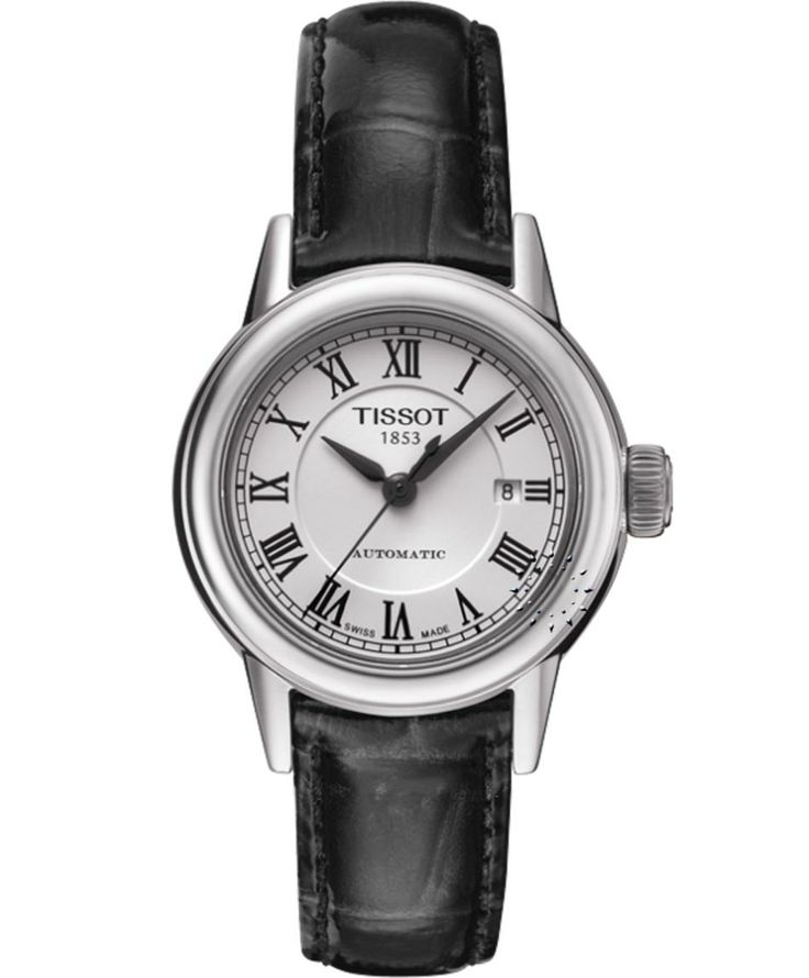 Tissot Carson Automatic Ladies Black Leather Strap Η τιμή μας: 418€ http://www.oroloi.gr/product_info.php?products_id=34575