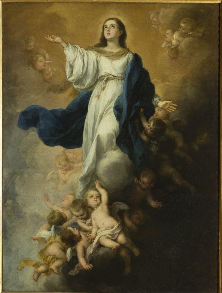 Bartolomé Esteban Murillo (1617–1682) - Immaculate Conception, c 1680 - El Hermitage trae a Ámsterdam el Siglo de Oro español - 20minutos.es