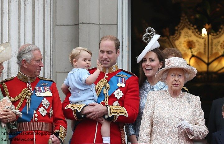 The Duchess of Cambridge in Catherine Walker for Trooping the Colour & A Surprise Prince George Appearance!
