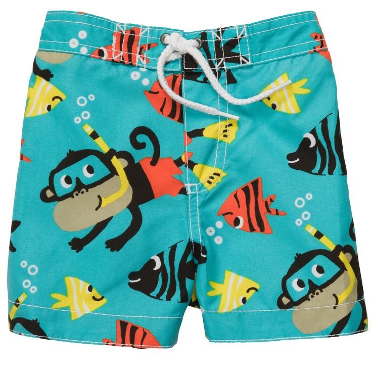 Snorkel Swim Trunks Swim Shop Swimsuits Toddler Boys