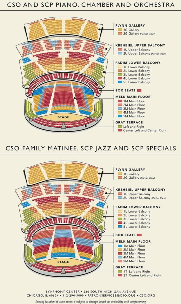 The Awesome Along With Interesting Spotlight 29 Seating Chart Chicago Symphony Orchestra Seating Charts Seating Plan