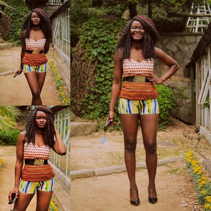African print top #new #newinankara #summerfashion #summerfun