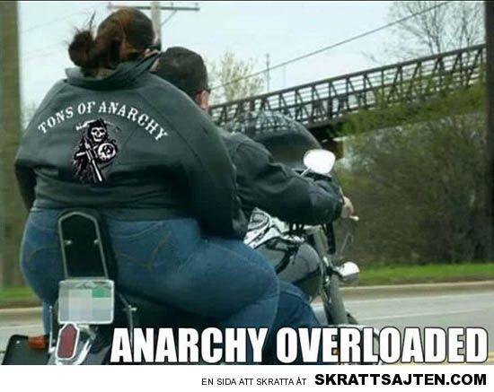 Mycket anarki blir det
