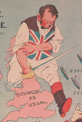 Why Was World War I a Total War for Britain?