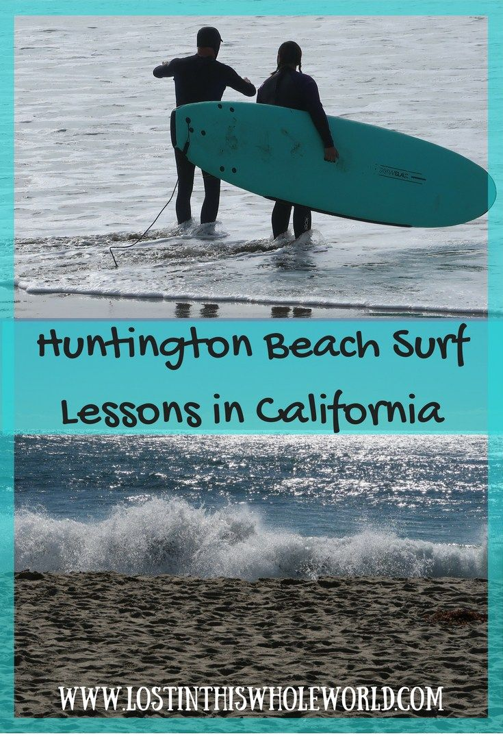 Huntington Beach Surf Lessons In