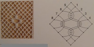 bobbin lace pattern with Spanish instructions and some photos