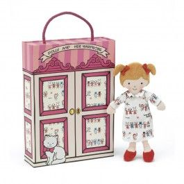 Jellycat Dolly and Her Wardrobe