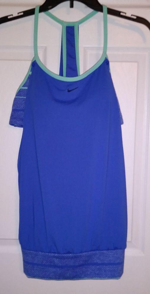Nike Filtered Sport 2-in-1 Womens Tankini Top Size XL X Large #Nike #Tankini