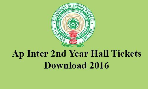 BIEAP Board released AP IPE Intermediate 1st Year and 2nd year hall tickets 2016 for download onli...