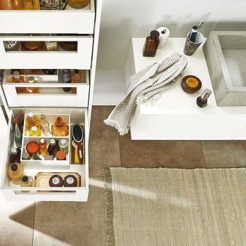 25 beste idee n over badkamer lade organisatie op pinterest haarspeldjes opslag badkamer - Badkamer organisatie ...