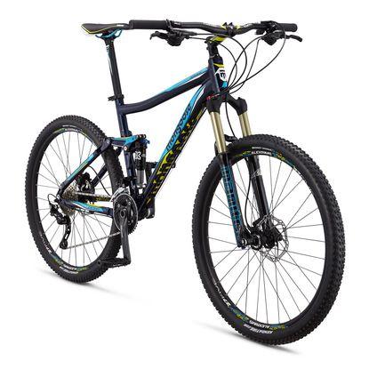 Mongoose Salvo Expert Full Suspension Mountain Bike - 2015
