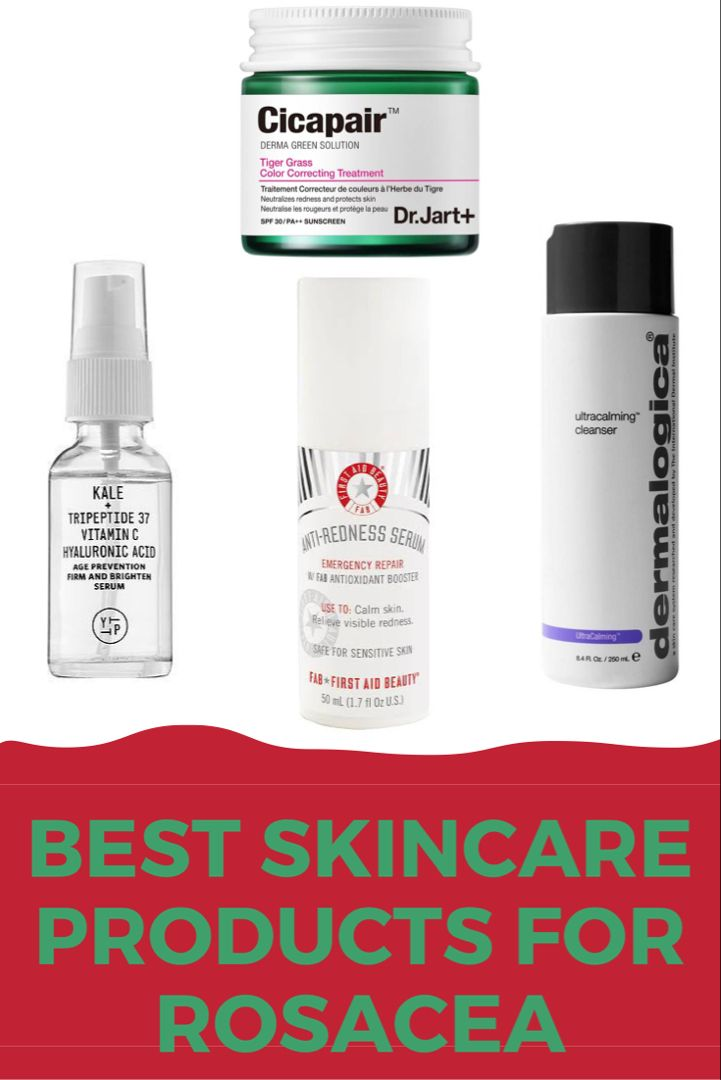 10 Best Skincare Products For Rosacea Skincare Routine For Rosacea Skin Calming Skin Care Best Skincare Products