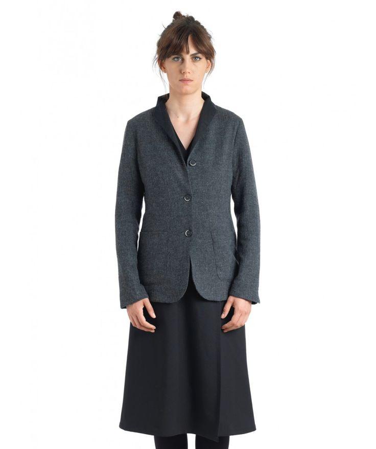 Giacca Titta Veosia Dark Grey - Jackets - Women - Shop