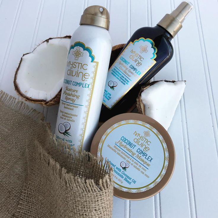 New Mystic Divine Coconut is a rejuvenating hairapeutic