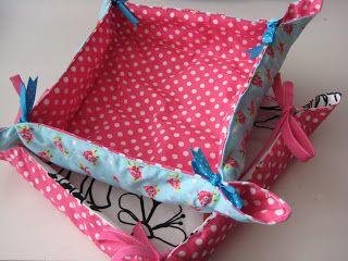 By MiekK: Project: sew a bread basket/ naai een broodmandje