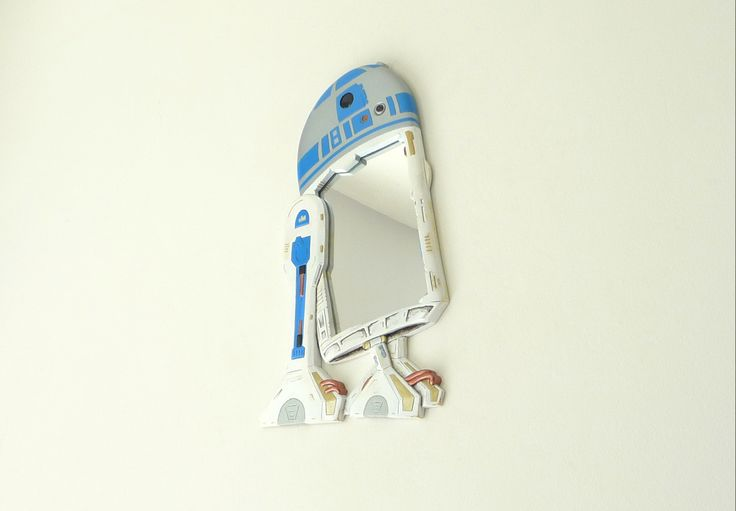 STARWARS: See how we made R2d2  please scroll down - and understand the amount of love and passion we poured into this much loved Starwars droid...  https://www.etsy.com/listing/190331811/starwars-r2d2-wall-mirror-is-great-for?ref=shop_home_active_8
