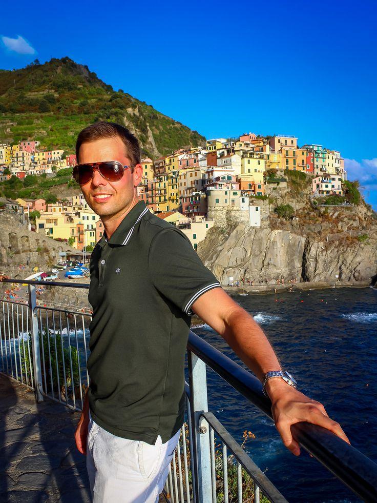 Niklas in Manarola #CinqueTerre #Italy