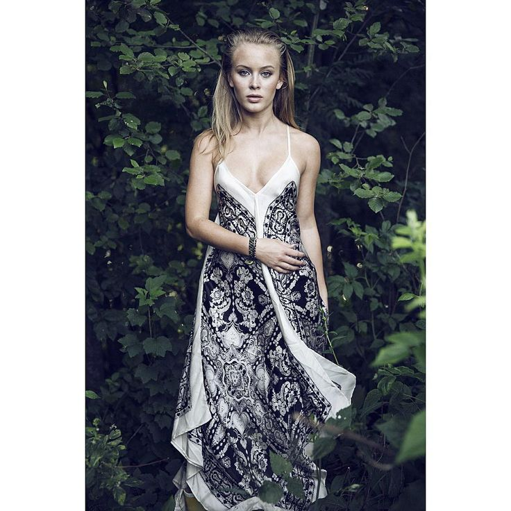 Singer Zara Larsson in Odd Molly dress