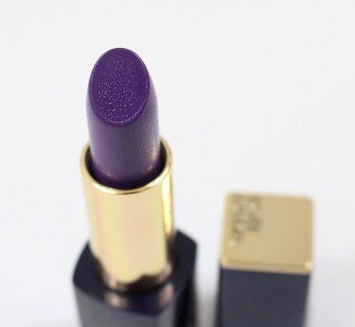 Estee Lauder Pure Color Envy Matte Lipstick in Stronger and Shameless Violet