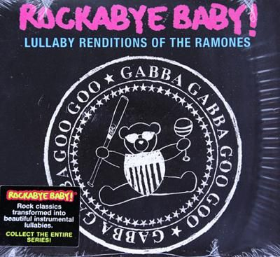 Rockabye Baby! Lullaby Renditions of #TheRamones. Hey Daddy-o. Hey Mommy-o too. Does your child need to be sedated? Should mama's boy or girl be too busy howling at the moon, let them pulsate to this backbeat. If you want a happy family, this album will provide pleasant dreams. Featuring lullaby renditions of: Rock 'N' Roll High School, I Wanna Be Sedated, Blitzkrieg Bop, Pinhead... and more!