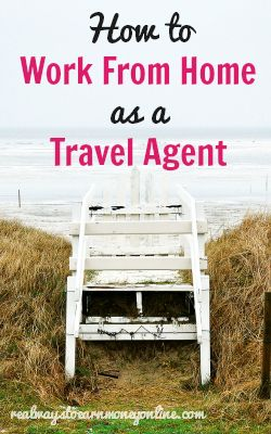 how to become a work from home travel agent