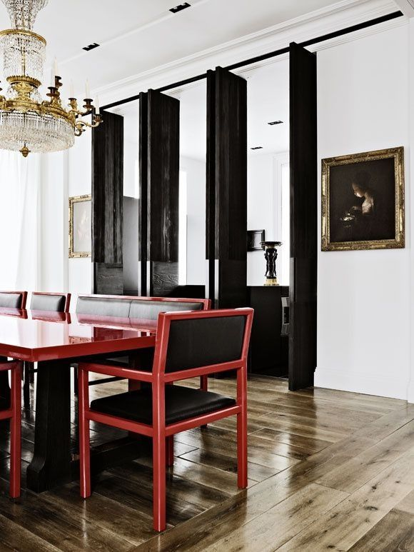 Christian liaigre london apartment a room to dine in for Interior design south london