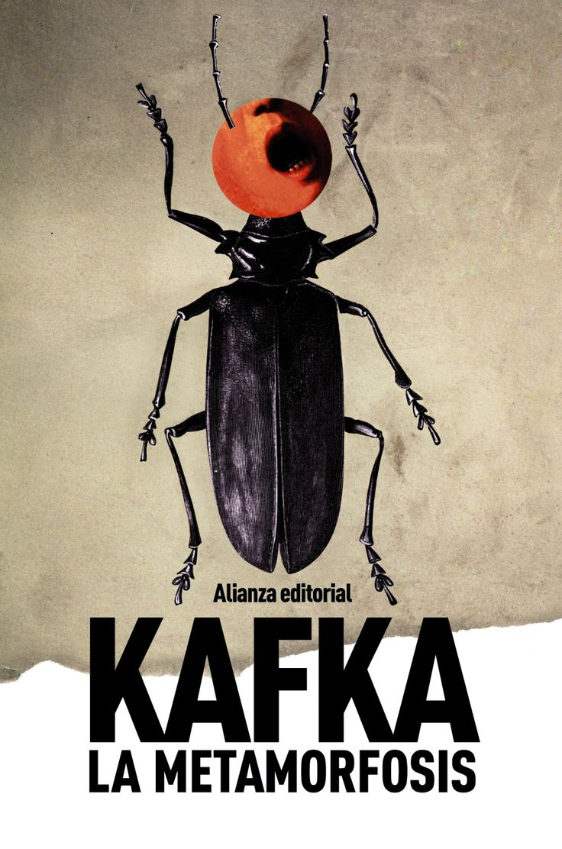"""""""LA METAMORFOSIS"""" (Cuento de genero literatura del absurdo publicado en 1915) de Franz Kafka. Frase célebre: «Una mañana, al despertar de sueños intranquilos, Gregor Samsa se encontró en su cama convertido en un monstruoso bicho.»"""