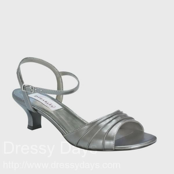 540b7b60992 Brielle Women s Dress Shoes and Wedding Shoes in Pewter Metallic - Wide  Width and Double Width   DBWW0495