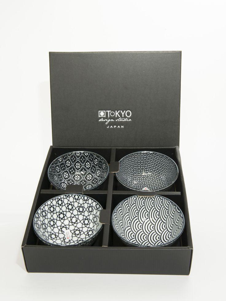 Kommetjes cadeauset van Tokyo Design Studio. www.towntje.nl