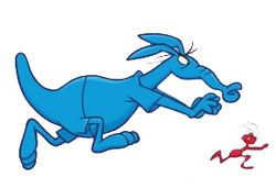 """The Ant and the Aardvark - """"I'm so hungry, I could eat an ant!"""""""