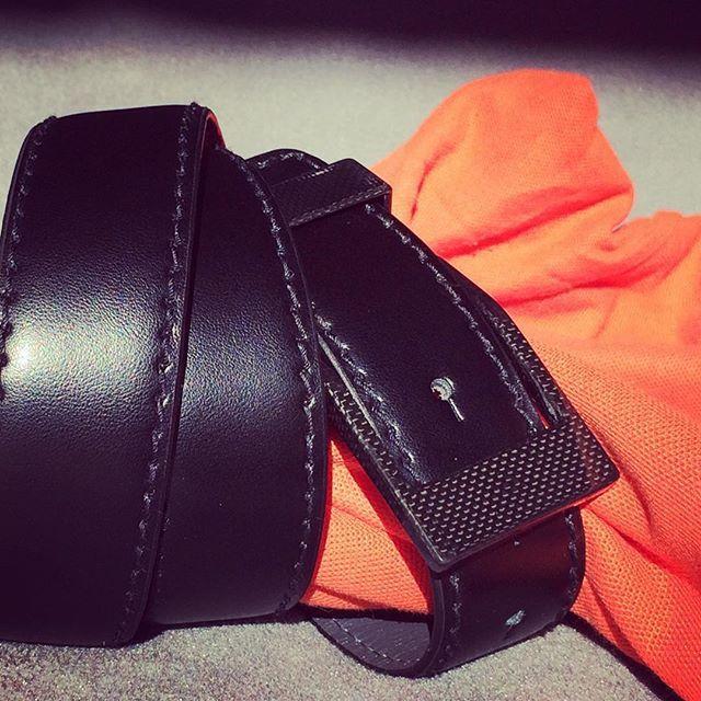 #orange tangle. KASPARI #carbonfiber #buckle #belt#whatsetsyouapart .#acceleratedevolutionBecause #freedomispriceless at #getkaspari#KASPARI #style in #menswear