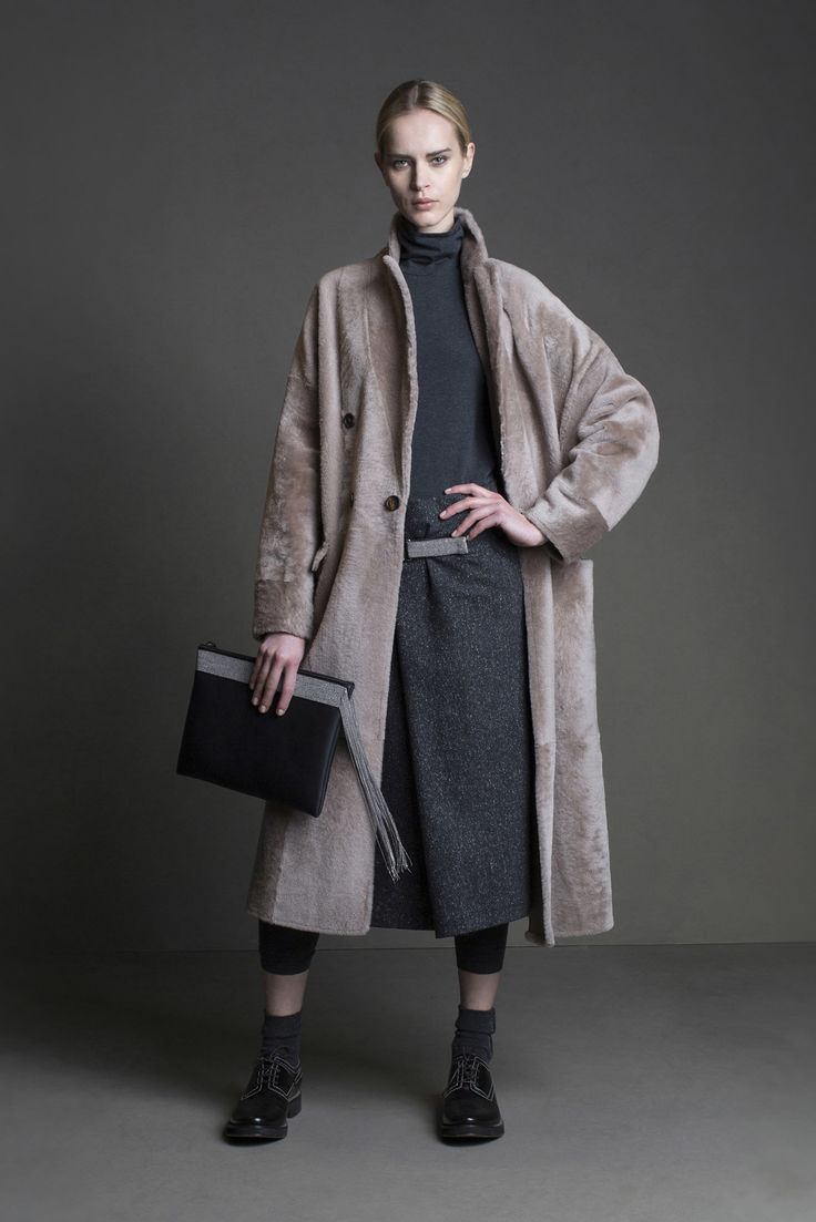 See the complete Brunello Cucinelli Fall 2015 Ready-to-Wear collection.