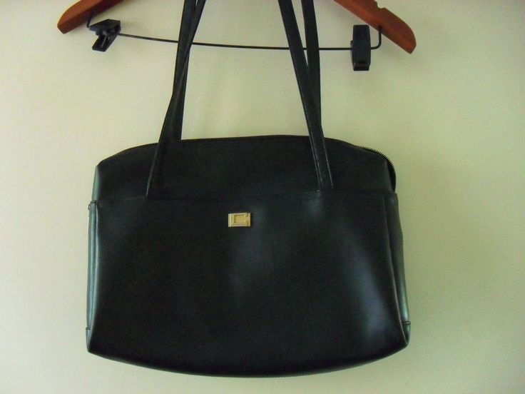 L. CREDI designer handbag as new